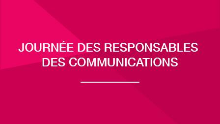Journées des responsables des communications