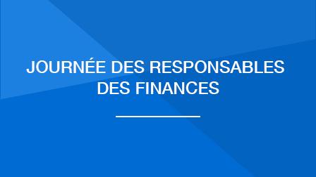 Journée des responsables des finances- 13 novembre 2019