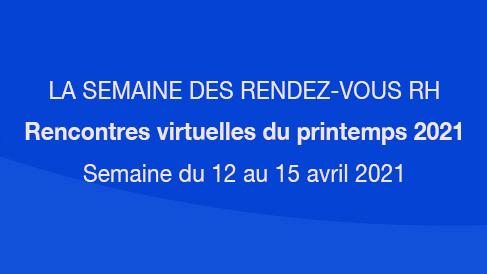 LA SEMAINE DES RENDEZ-VOUS RH